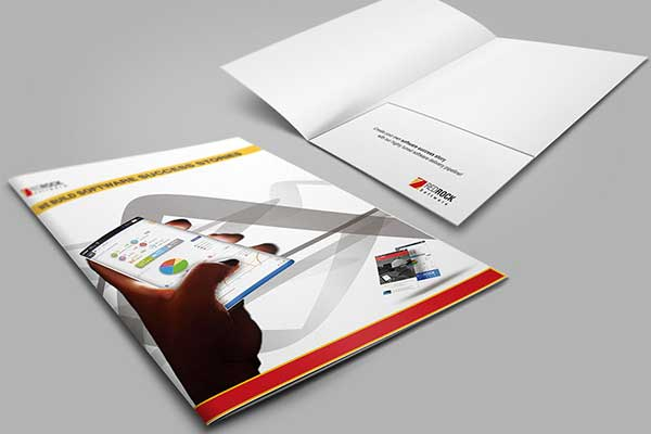 File Cover Designed for RedRock Software, Australia