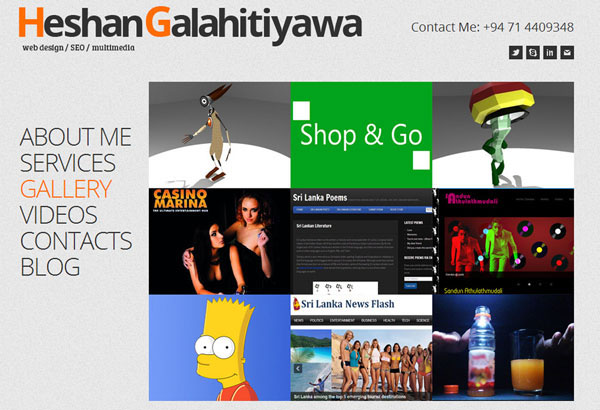 Heshan's-Previous-Portfolio-Website