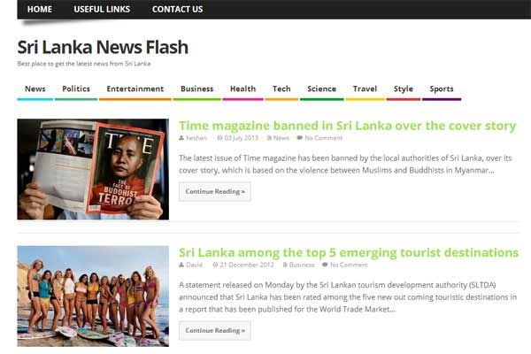 sri-lanka-news-flash-website-design